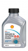 Shell Brake & Clutch fluid DOT4 fékolaj (500ml)